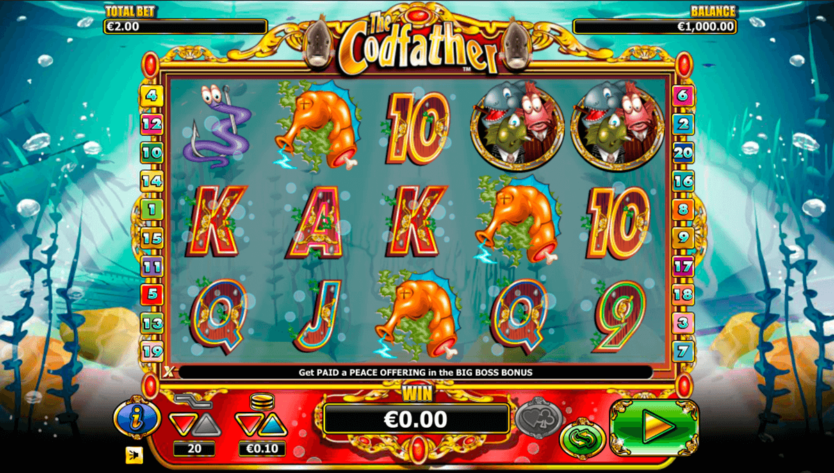 the codfather nextgen gaming casinospil online