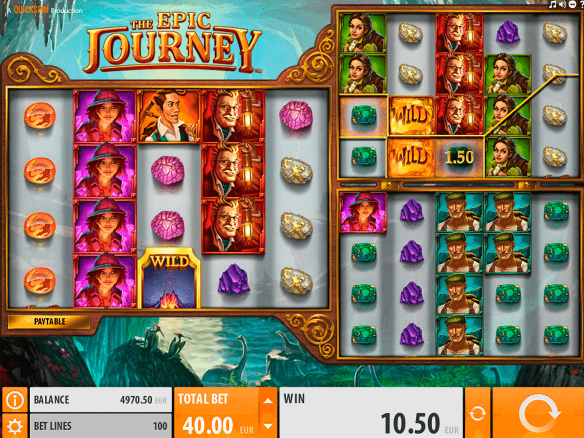 the epic journey quickspin casinospil online