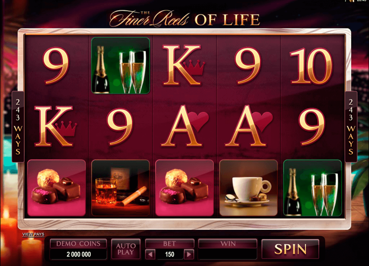 the finer reels of life microgaming casinospil online
