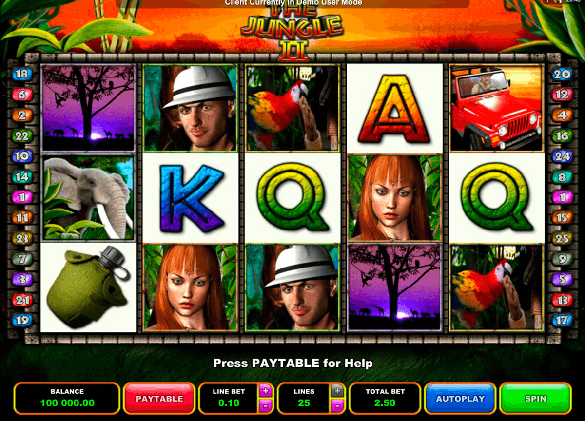 the jungle ii microgaming casinospil online