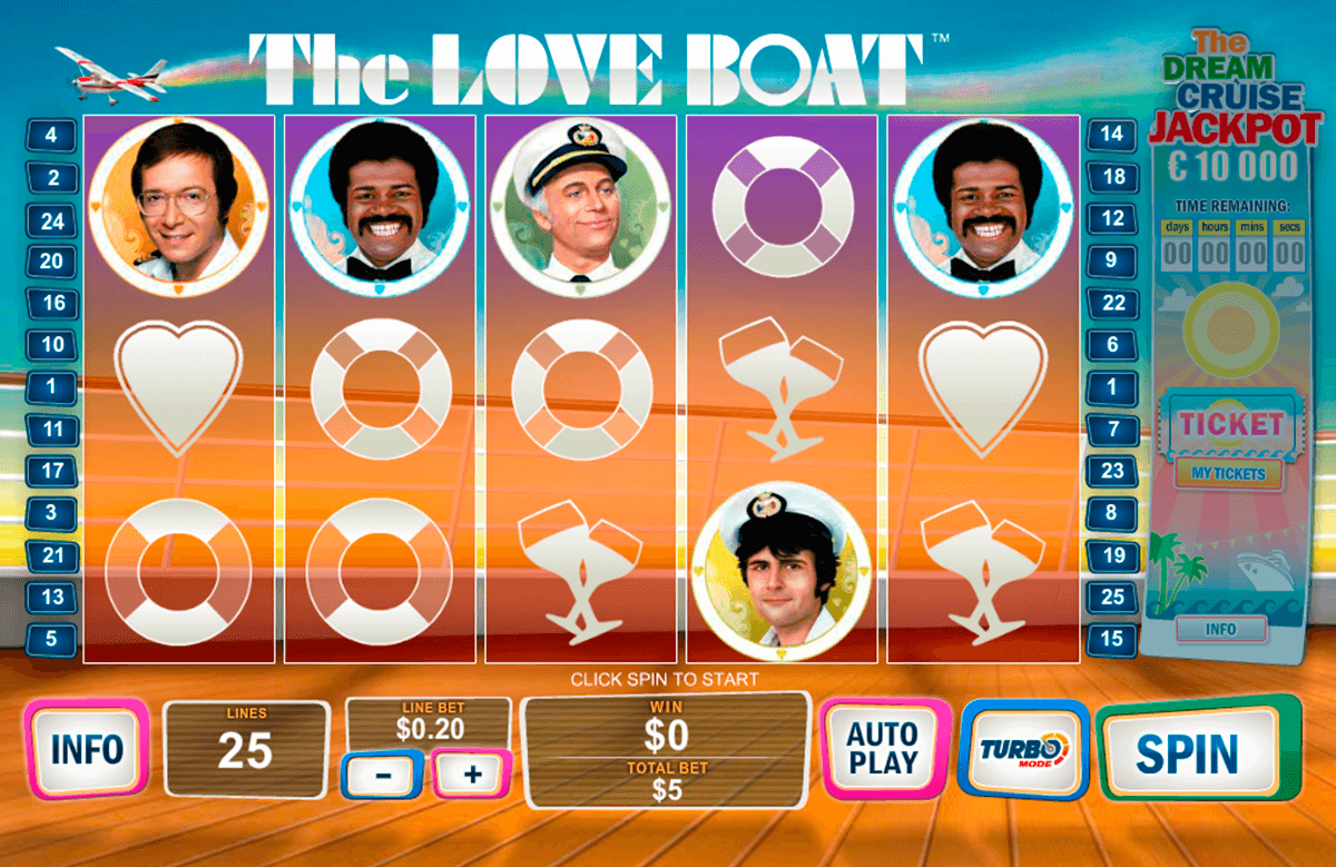 the love boat playtech casinospil online