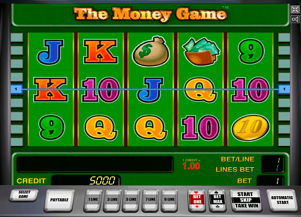 the money game novomatic casinospil online