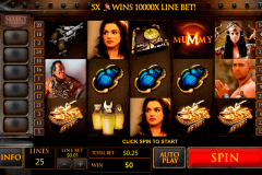 the mummy playtech casinospil online