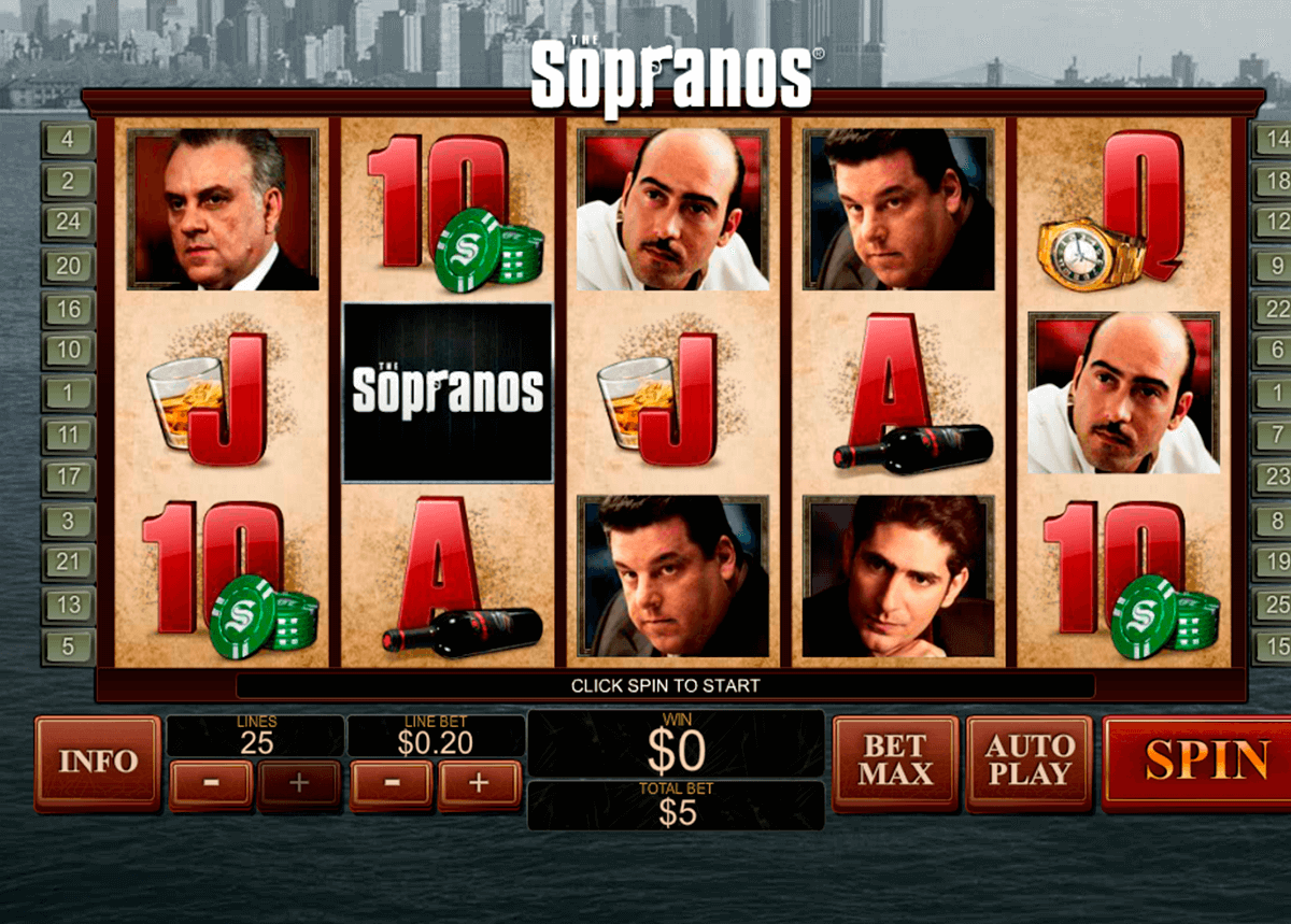 the sopranos playtech casinospil online