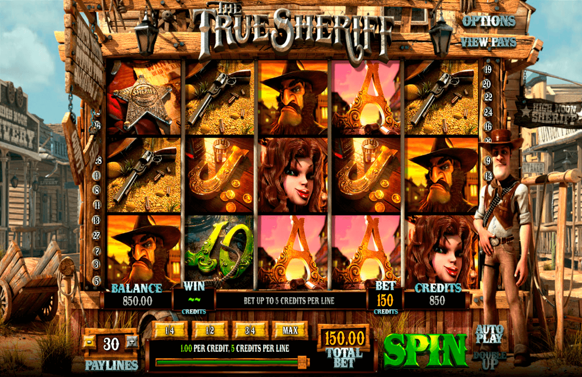 the true sheriff betsoft casinospil online