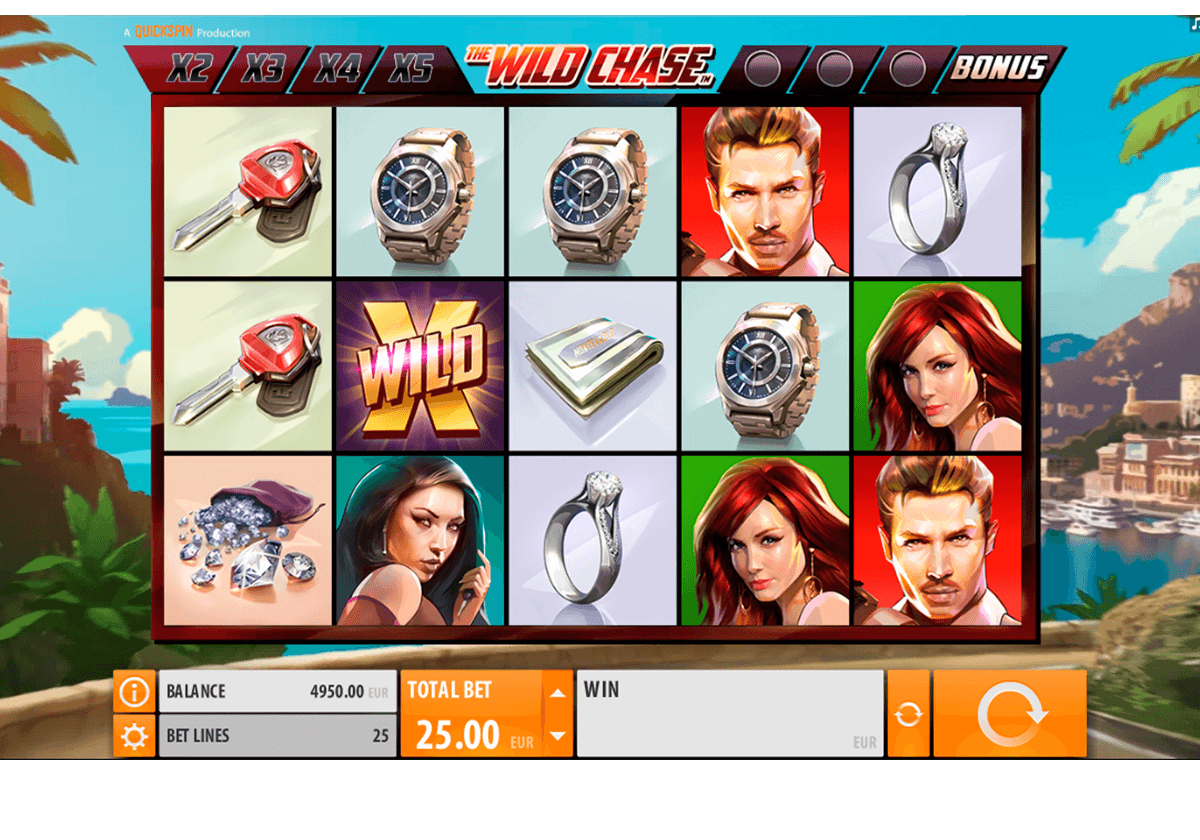 the wild chase quickspin casinospil online