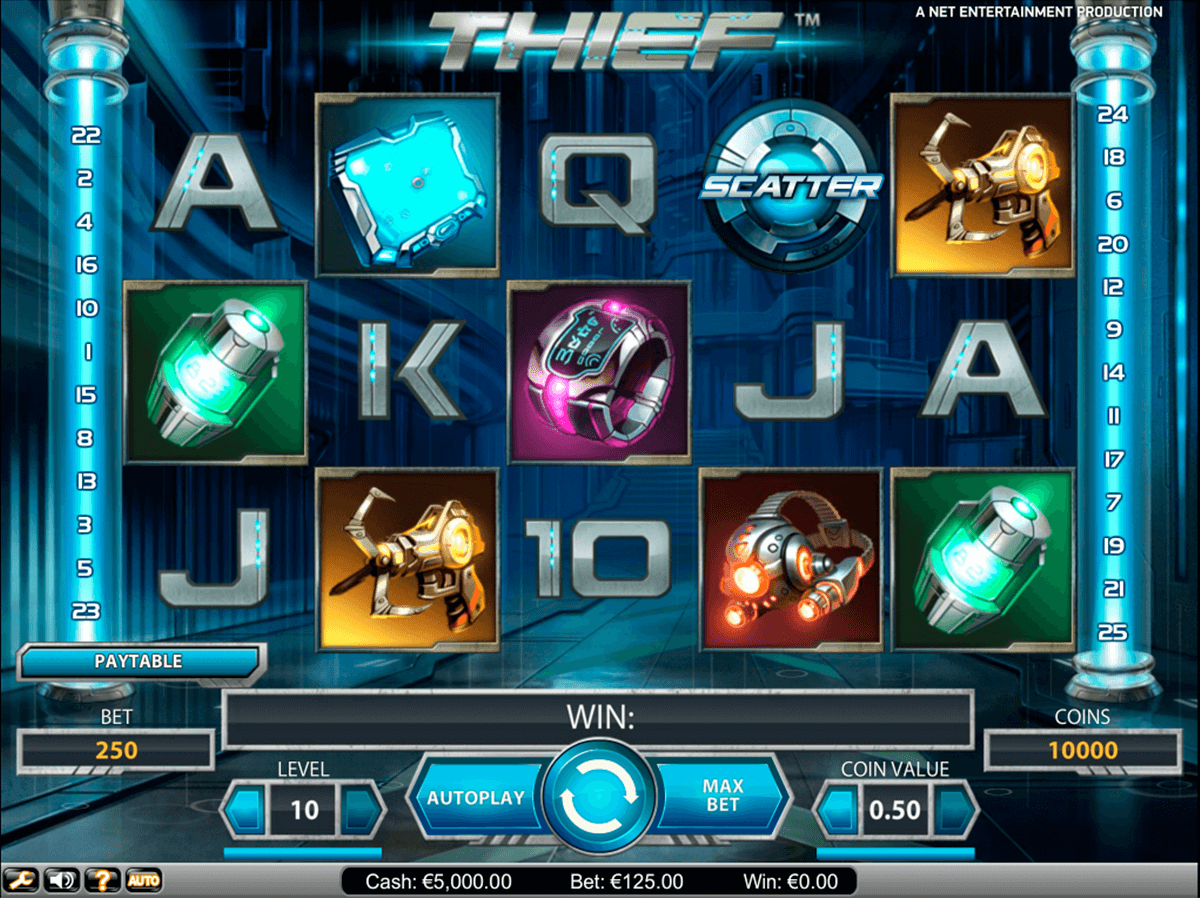 thief netent casinospil online