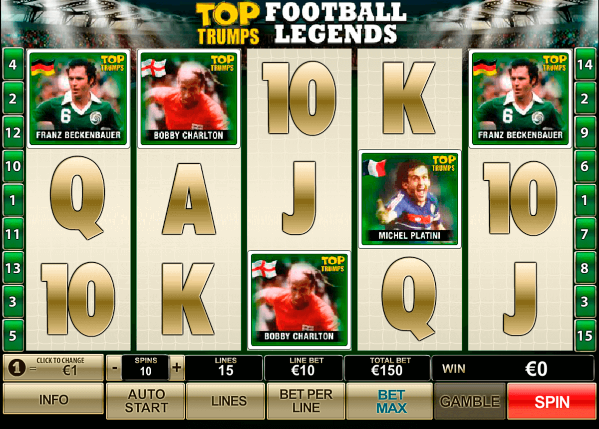 top trumps football legends playtech casinospil online