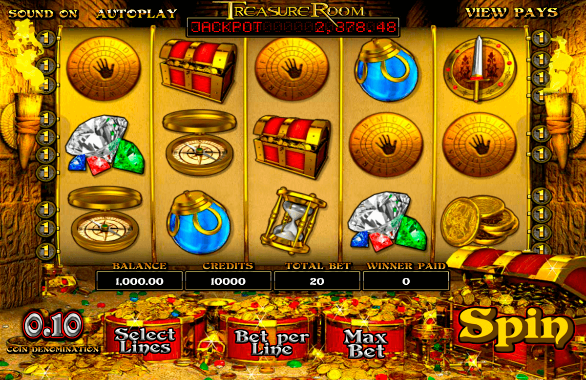 treasure room betsoft casinospil online