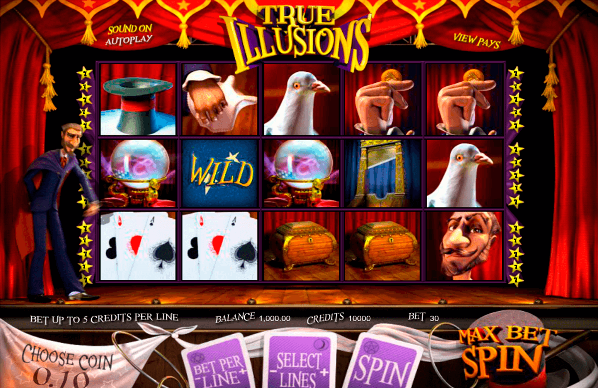 true illusions betsoft casinospil online