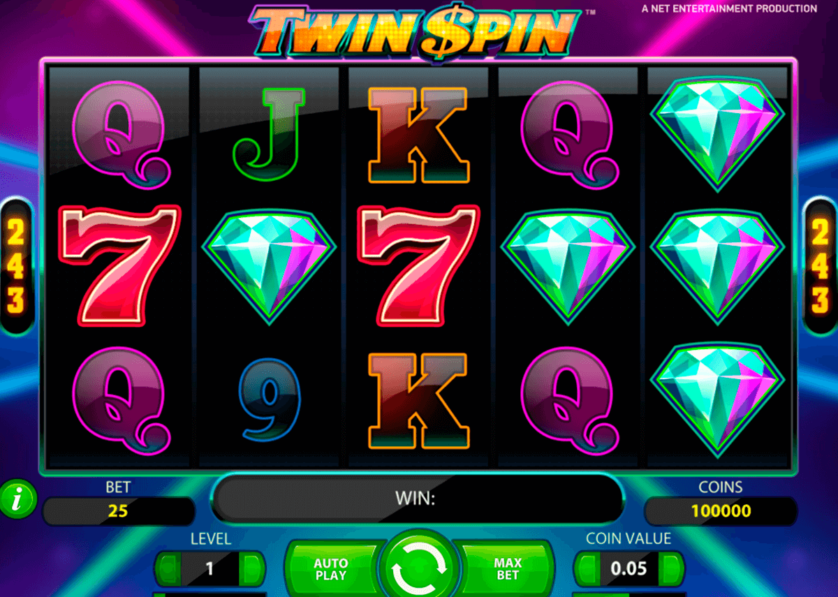 twin spin netent casinospil online