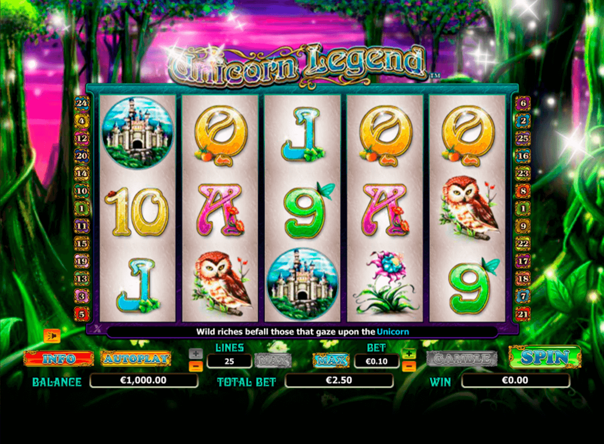 unicorn legend nextgen gaming casinospil online
