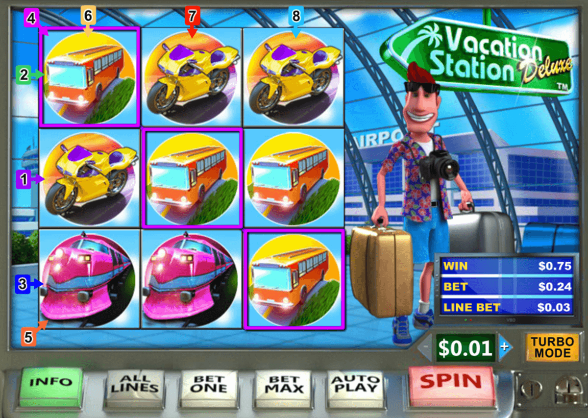 vacation station deluxe playtech casinospil online