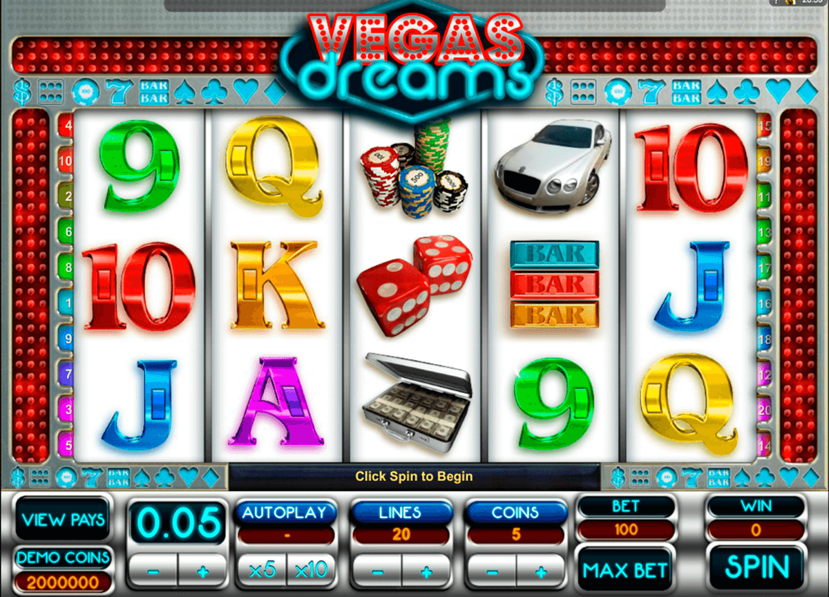 vegas dreams microgaming casinospil online