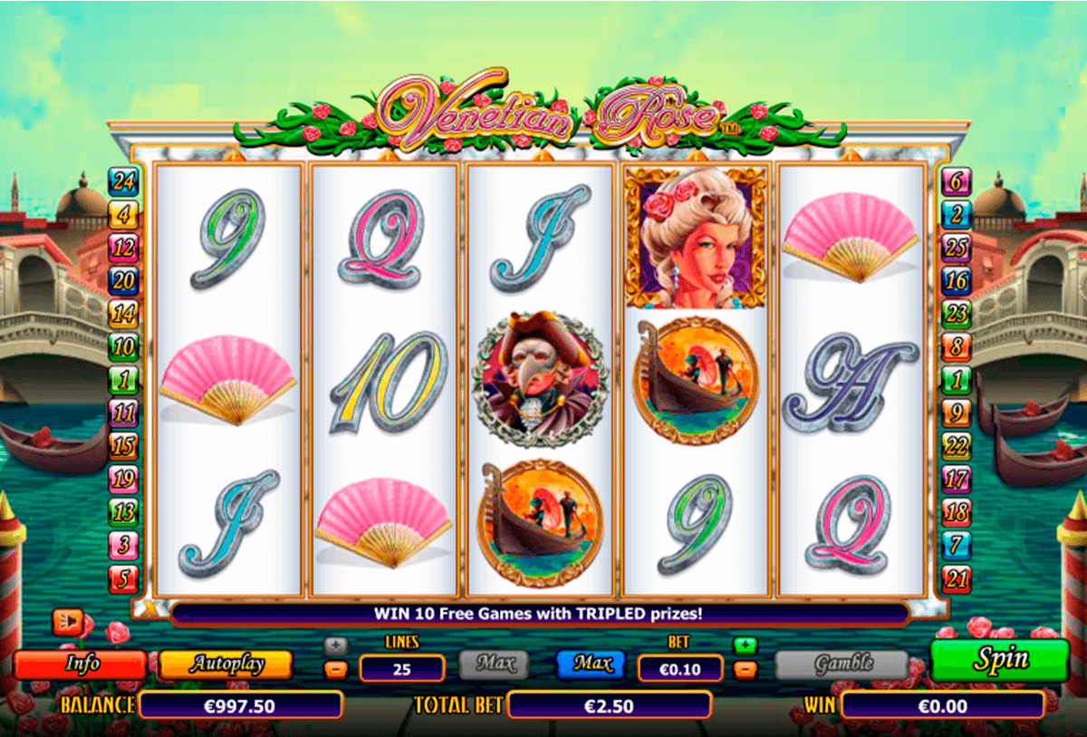 venetian rose nextgen gaming casinospil online