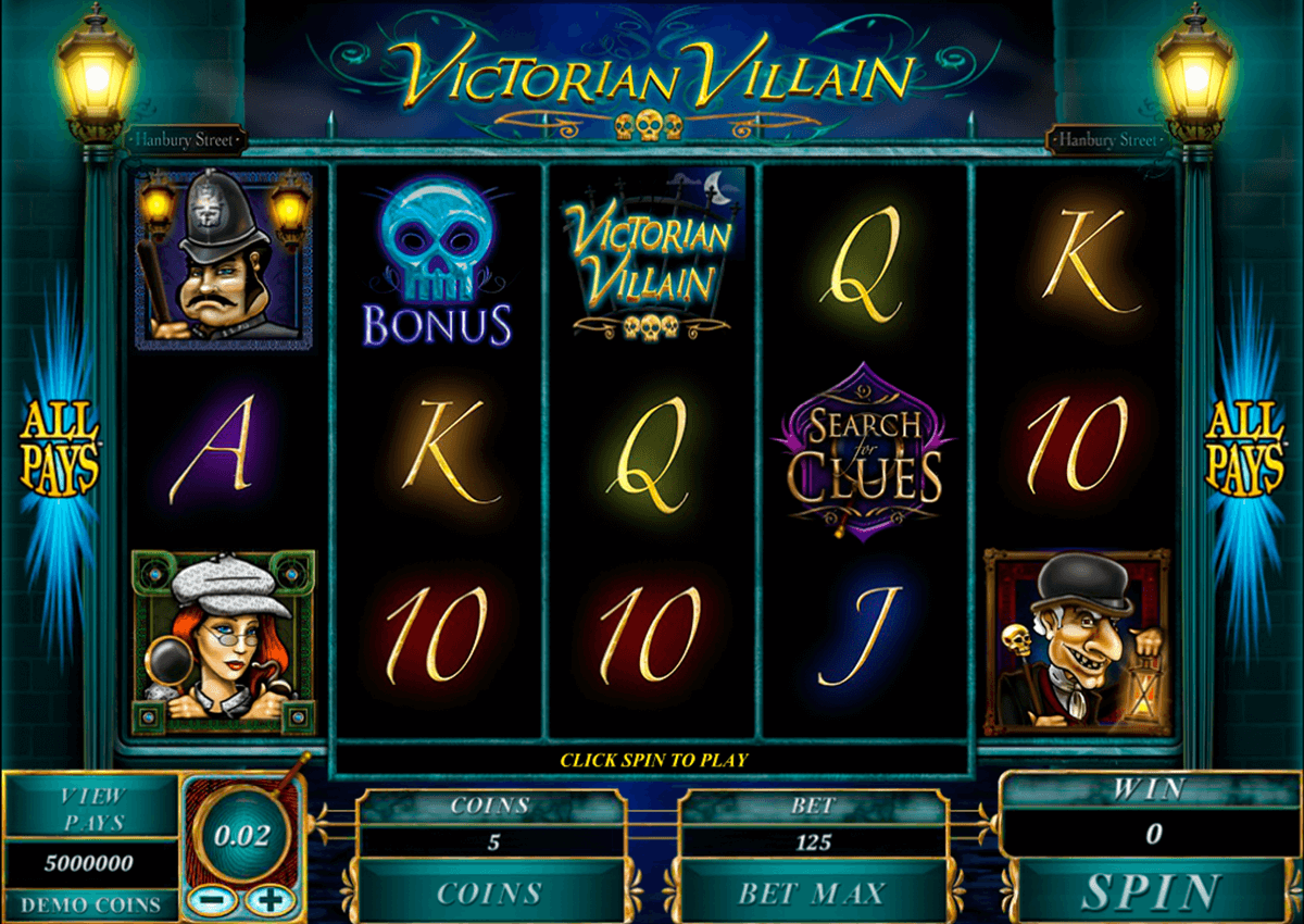 victorian villain microgaming casinospil online