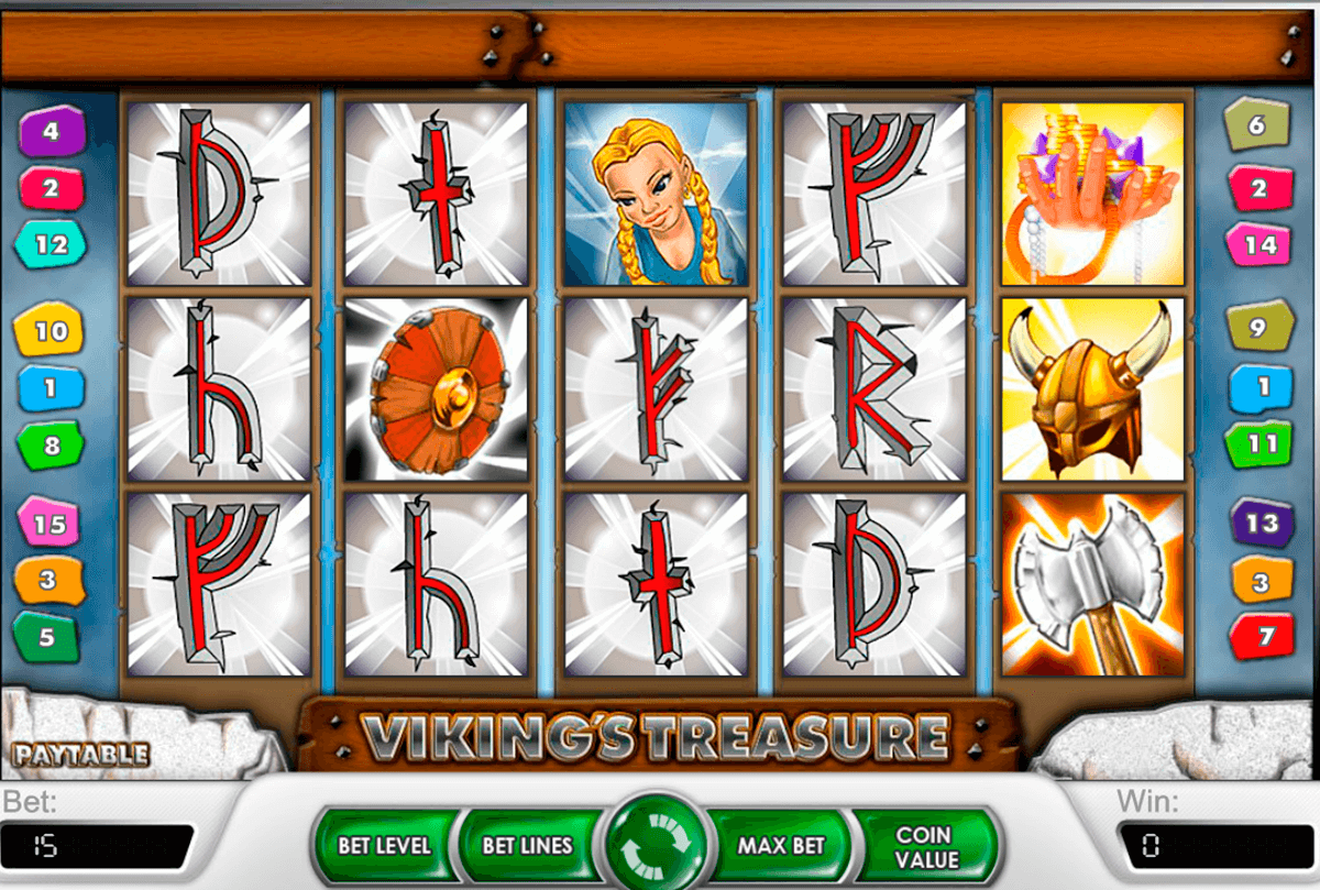 vikings treasure netent casinospil online