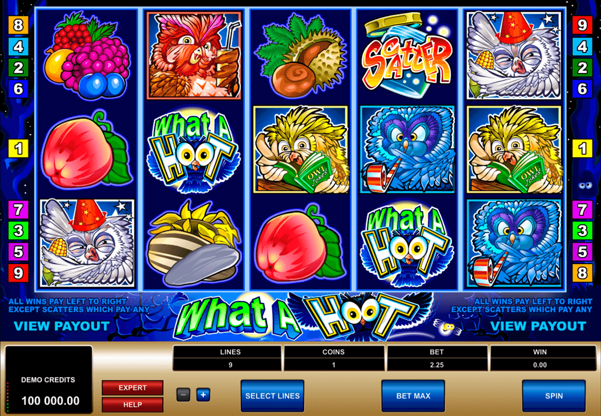 what a hoot microgaming casinospil online