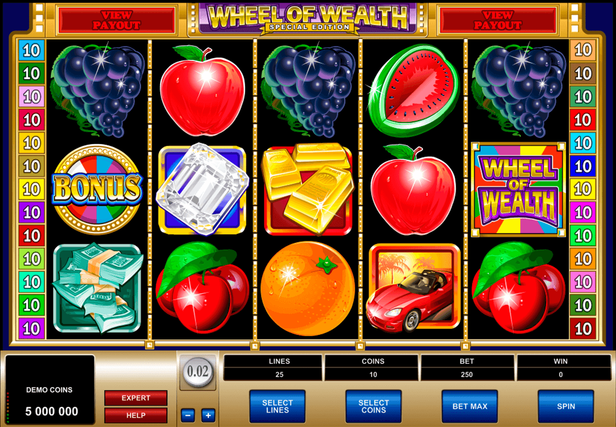 wheel of wealth special edition microgaming casinospil online