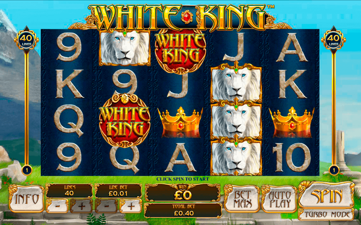white king playtech casinospil online