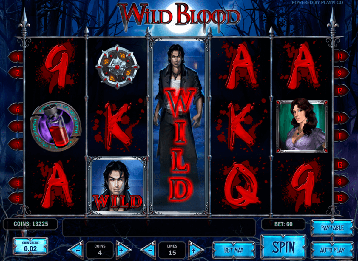 wild blood playn go casinospil online