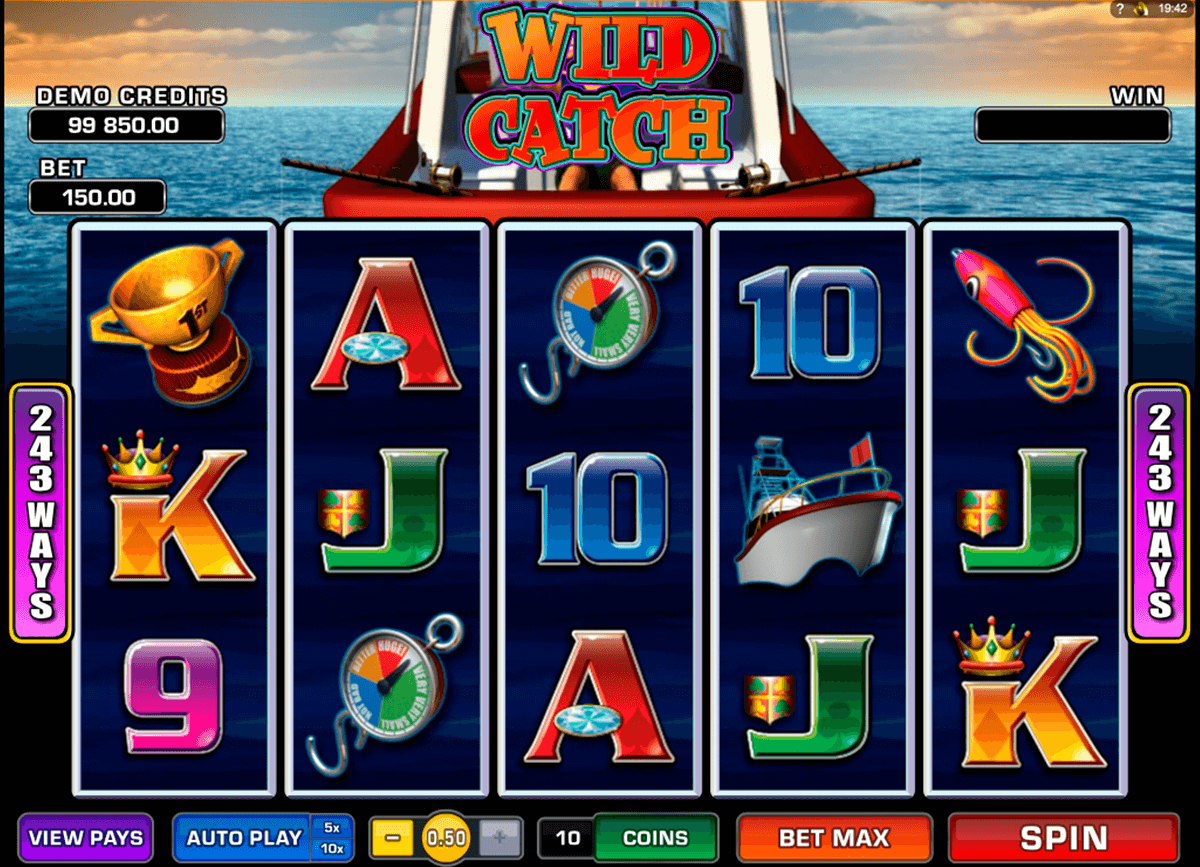 wild catch microgaming casinospil online