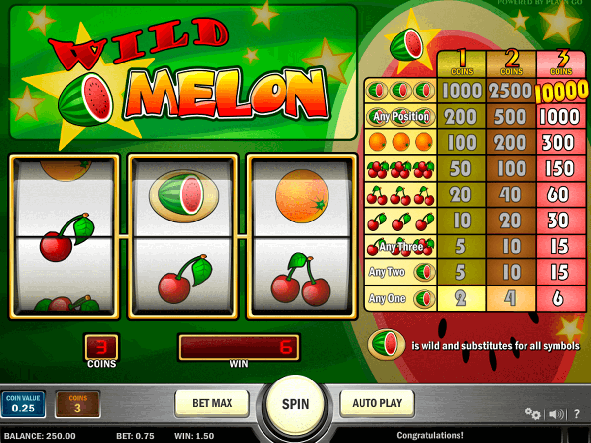 wild melon playn go casinospil online