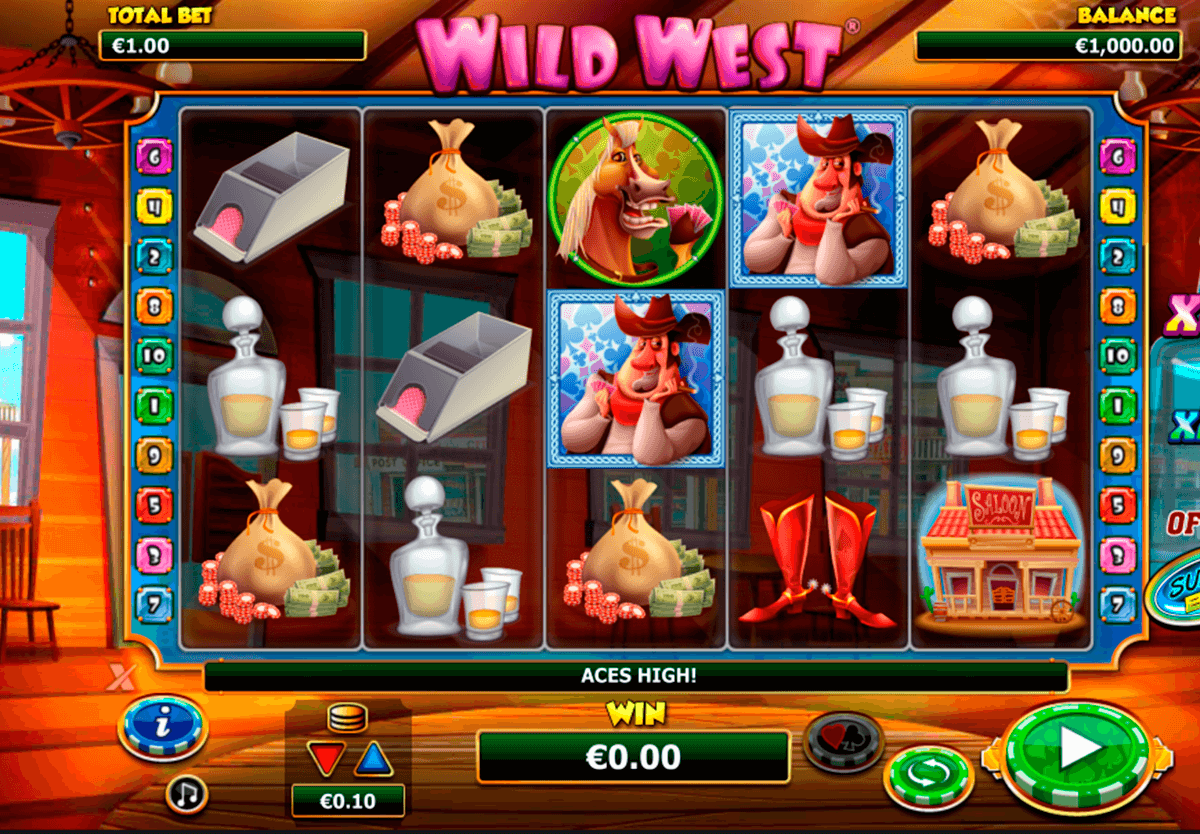 wild west nextgen gaming casinospil online