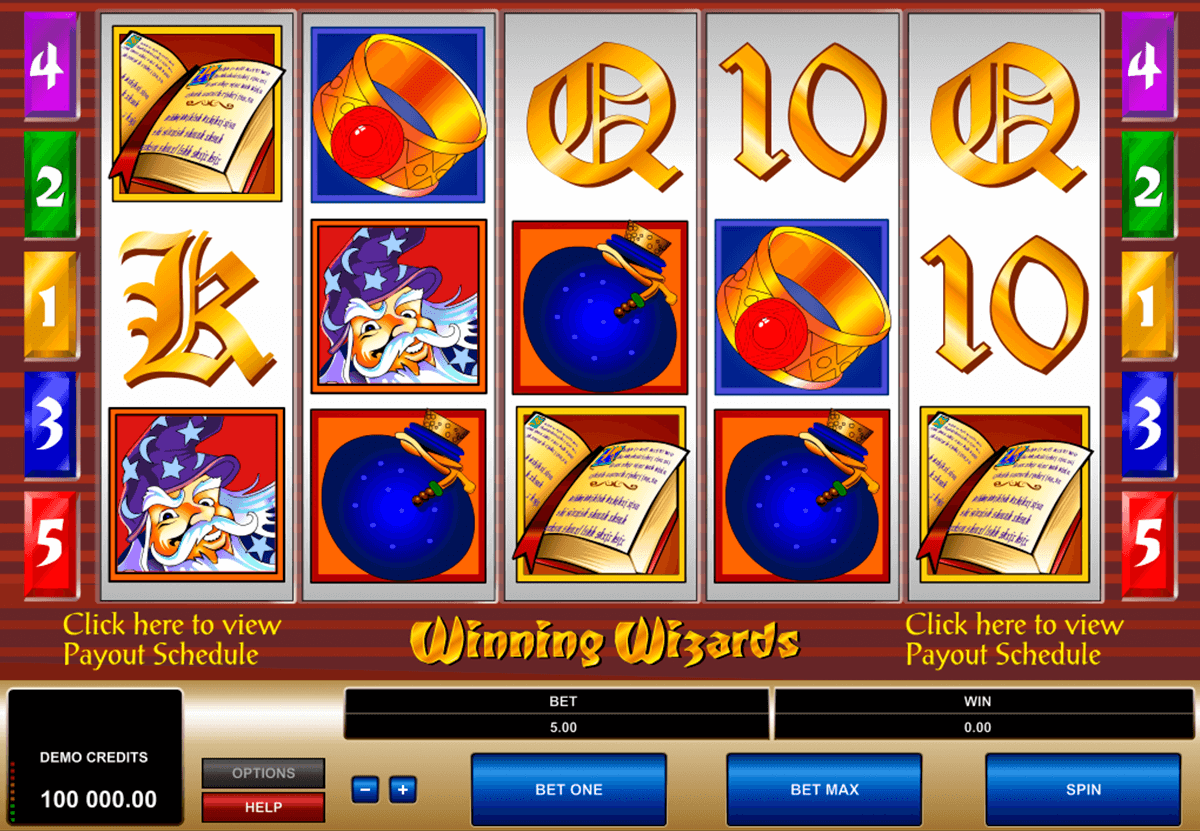 winning wizards microgaming casinospil online