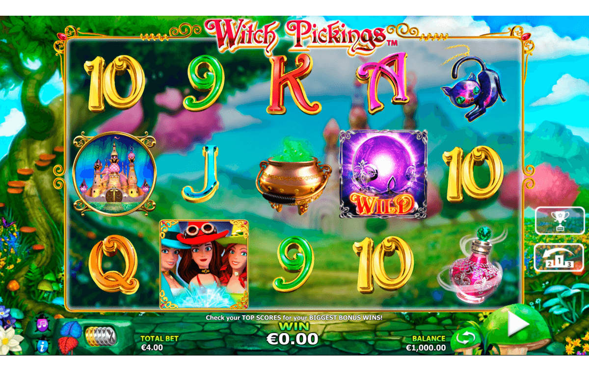 witch pickings nextgen gaming casinospil online
