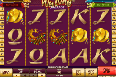wu long jackpot playtech casinospil online